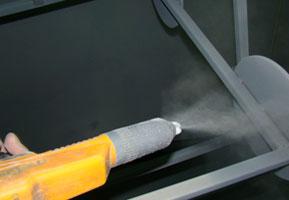 Ventajas de la pintura en polvo en cabinas de pintura